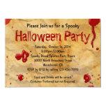Pergamino, invitaciones de Halloween de la Invitación 12,7 X 17,8 Cm