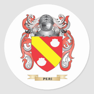 Peri Coat of Arms (Family Crest) Sticker