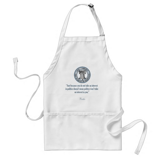 Pericles Quote Adult Apron