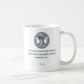 Pericles Quote Coffee Mug