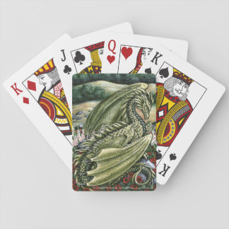 Peridot Dragon August Birthstone Playing Cards