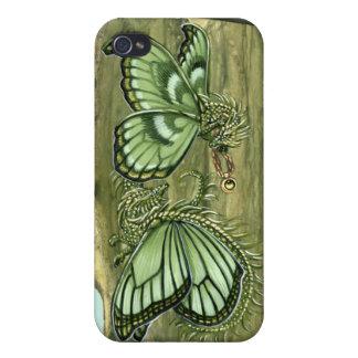 Peridot Dragon Flies iPhone4 Case