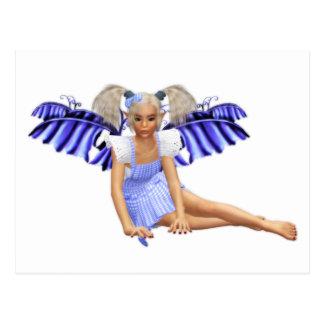 Peridot Fairy Postcard