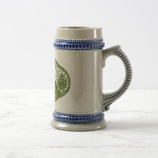Peridot Green Dragon Medallion Mug