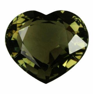 Peridot Heart Ornament