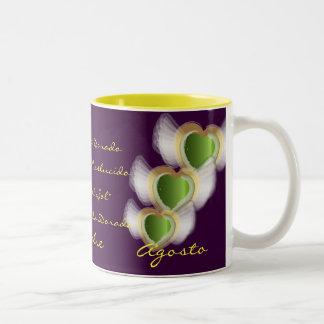 """""""Peridot Para Agosto"""" Mug- Customized"""