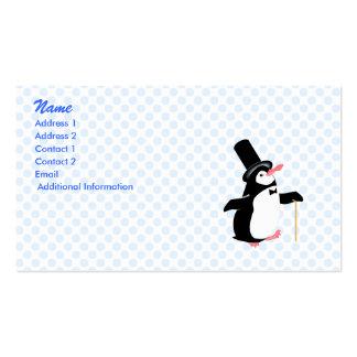 Peridot Penguin Business Card