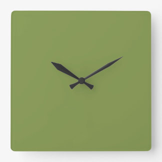 Peridot Square Wall Clock