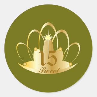 Peridot TIARA, Sweet, 15 Sticker-Customize