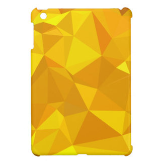 Peridot Yellow Abstract Low Polygon Background Case For The iPad Mini