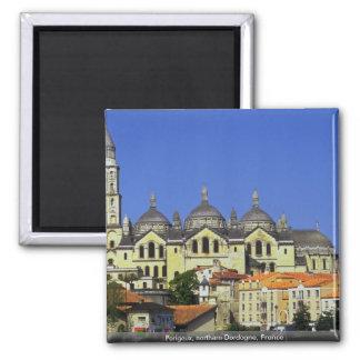 Perigeux, northern Dordogne, France 2 Inch Square Magnet