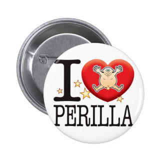 Perilla Love Man Pinback Button