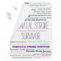 Perinatal Stroke Awareness Baby Blanket