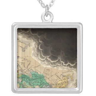Period of The First Crusade 1100 AD Square Pendant Necklace