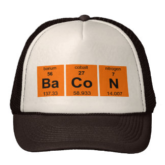 Periodic BaCoN $17.95 (11 colors) Truckers Cap Mesh Hat