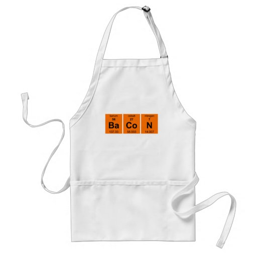 Periodic BaCoN $23.95 Chef's Apron