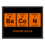 Periodic BaCoN Poster $18.95