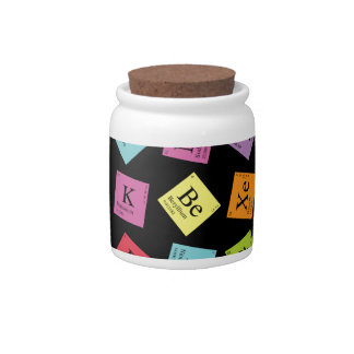 Periodic Elements Candy Dishes