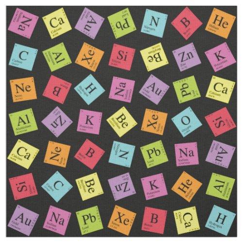 Periodic Elements Fabric
