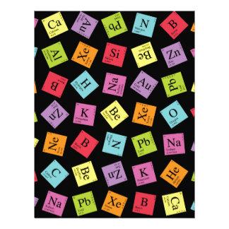 Periodic Elements Letterhead
