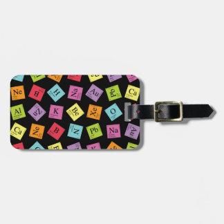 Periodic Elements Luggage Tag