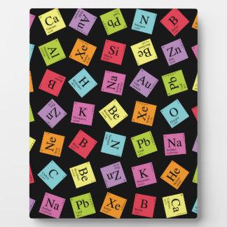 Periodic Elements Display Plaque
