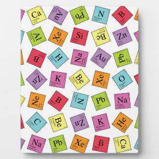 Periodic Elements Photo Plaques