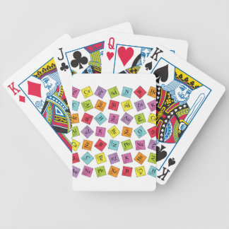 Periodic Elements Poker Cards