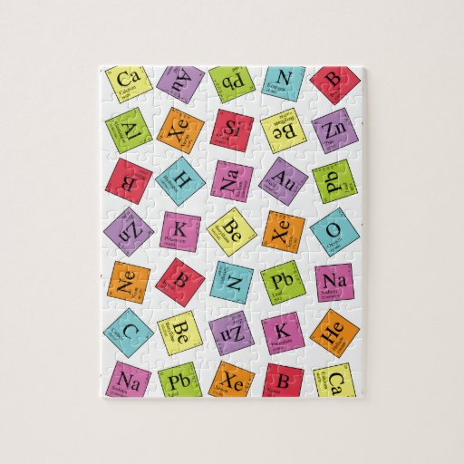 Periodic Elements Puzzle