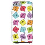 Periodic Elements Tough iPhone 6 Case