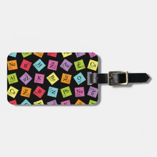 Periodic Elements Travel Bag Tag