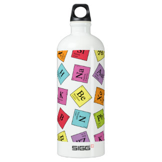 Periodic Elements Water Bottle