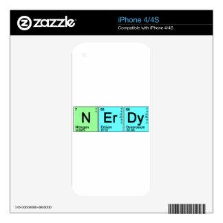 Periodic Nerd iPhone 4S Decals