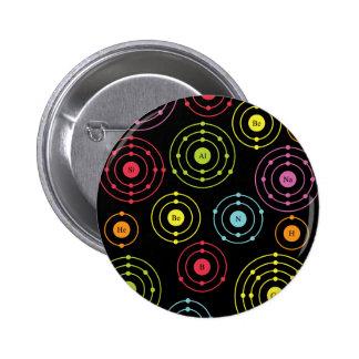 Periodic Shells 2 Inch Round Button