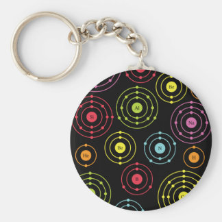 Periodic Shells Keychain