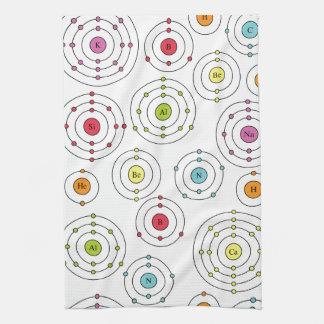Periodic Shells Kitchen Towels