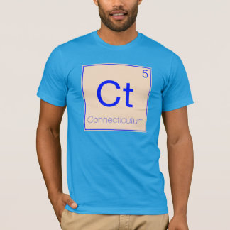 Periodic States - Connecticut (CT) T-Shirt