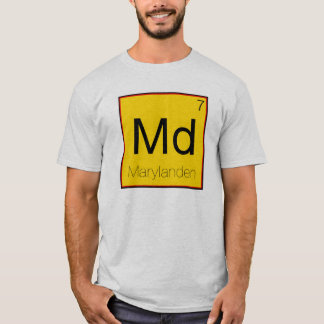 Periodic States - Maryland (MD) T-Shirt
