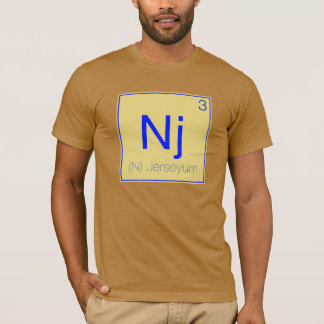 Periodic States - New Jersey (NJ) T-Shirt