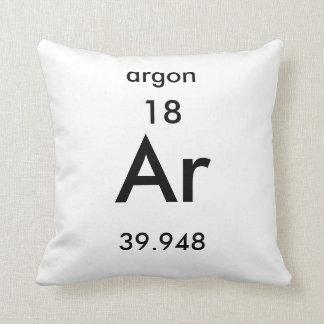 Periodic Table 18 Argon Pillow