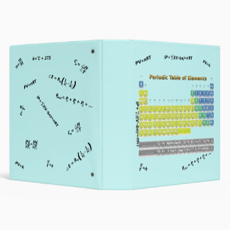 Periodic Table 1.5 inch Ring Binder