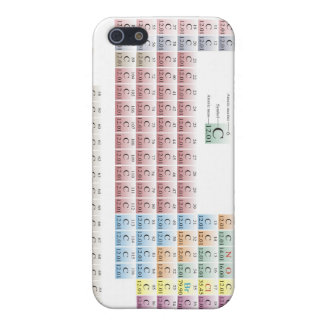 periodic table According to Organic Chemists Case For iPhone SE/5/5s