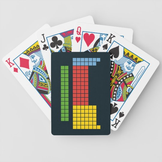 Periodic table bicycle playing cards