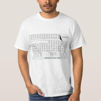 Periodic Table Cheat Shirt