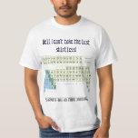 Periodic Table Chemistry Cheat Sheet T-shirt