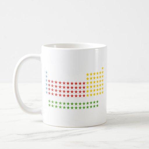 Periodic table classic white coffee mug
