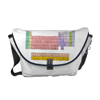 Periodic Table Courier Bags