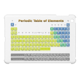 Periodic Table Cover For The iPad Mini