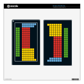 Periodic table decals for kindle fire