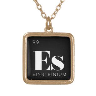 Periodic table necklaces lockets zazzle periodic table elements necklace einsteinium urtaz Image collections